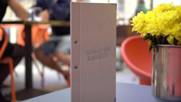 Film publicitaire présentant la brasserie Bouillon Baratte à Lyon. Réalisé par THOMAS BACO PRODUCTION, vidéaste freelance à Lyon.